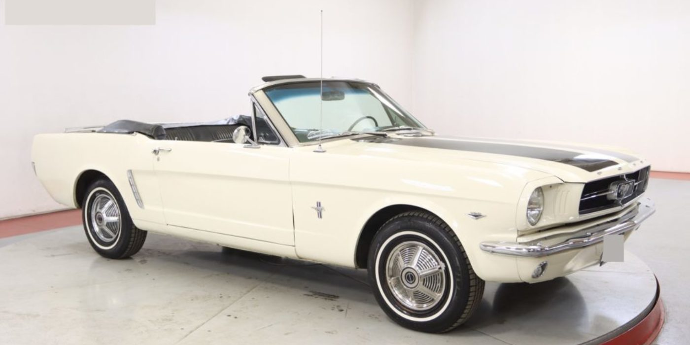 Ford Mustang cabriolet 289 ci V8 Code A Boite manuelle