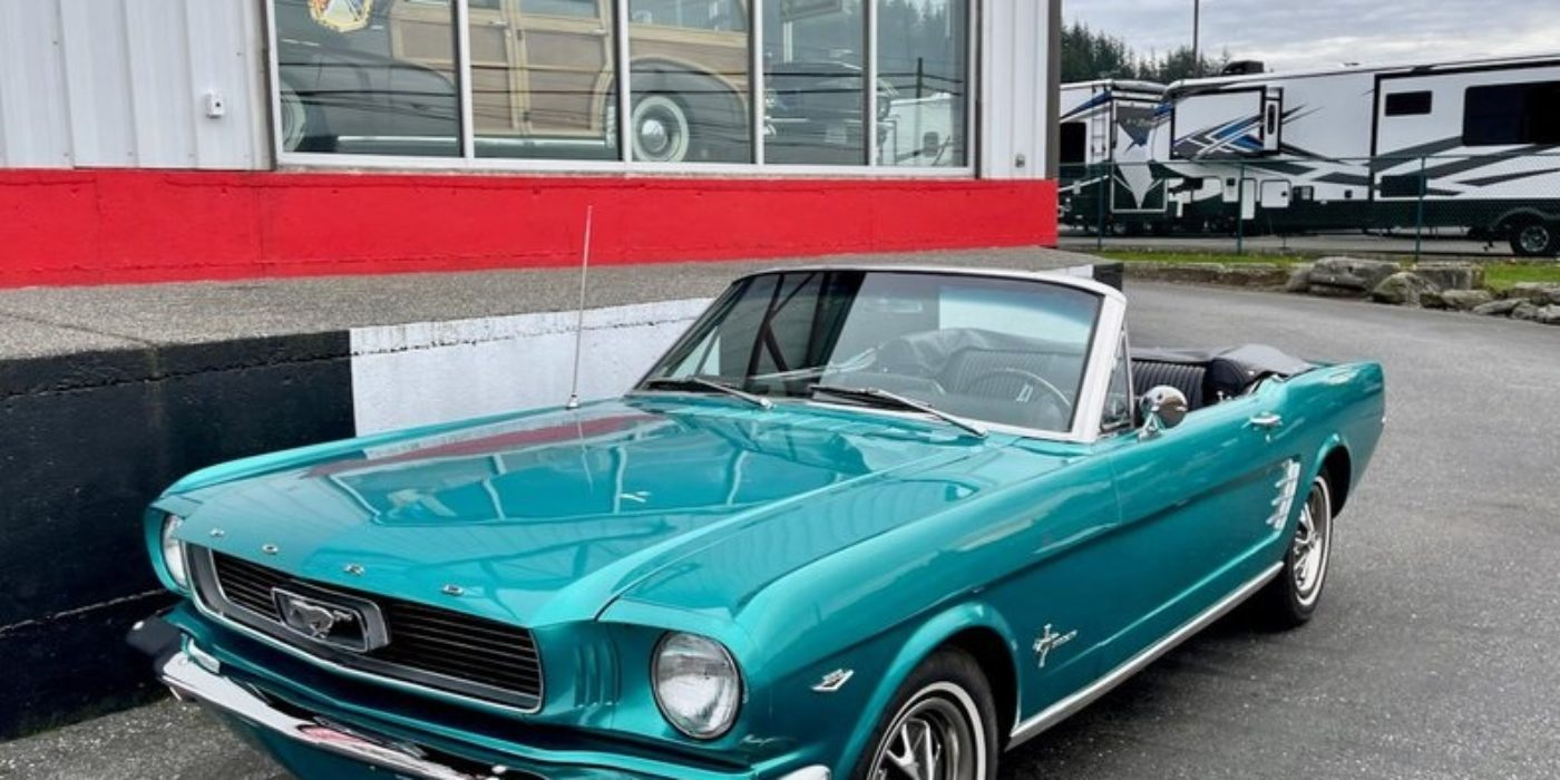 1966 Ford Mustang cabriolet 289 ci V8 Code C Boite Automatique