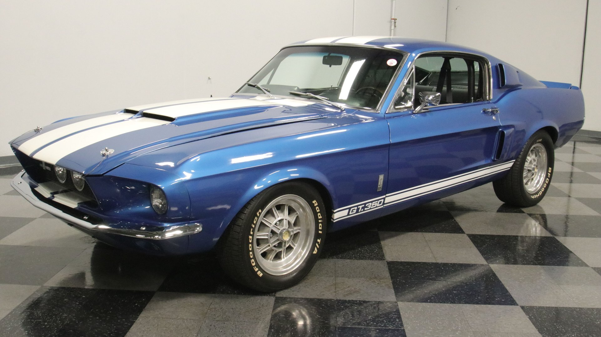 1967 Ford Mustang GT350 Shelby 289 ci V8 HiPo Boite manuelle